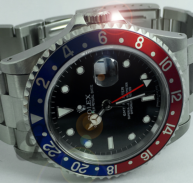 【Brand Shooting,Good Industrial design:Photo Collection】Rolex GMT Master Ref.16700