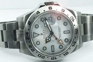 【Brand Shooting,Good Industrial design:Photo Collection】Rolex EXPLORER II White Tritium /ロレックス エクスプローラー II Ref.216570