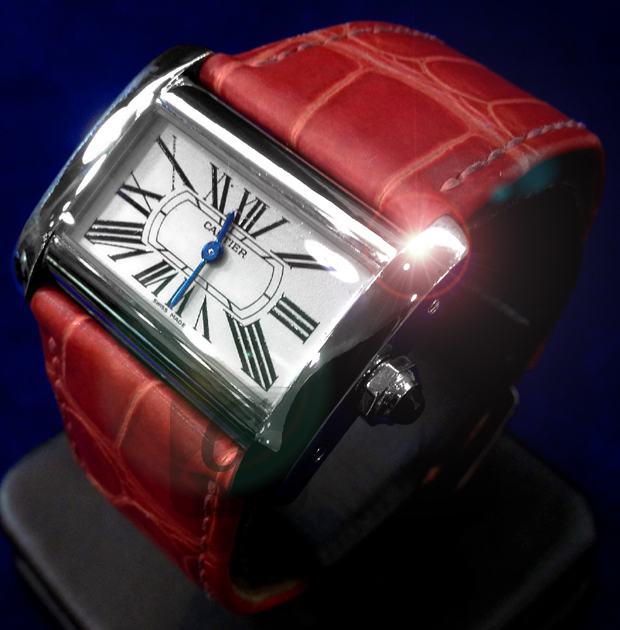 【Brand Shooting,Good Industrial design:Photo Collection】CARTIER MINI TANK DIVAN
