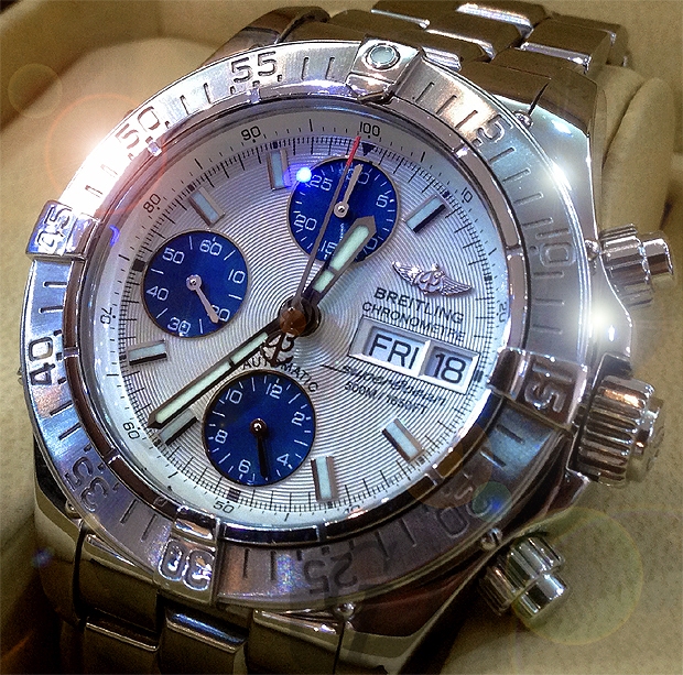 【Brand Shooting,Good Industrial design:Photo Collection】BREITLING Super Ocean Chronograph A13340