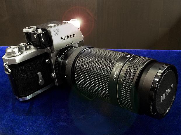 【Brand Shooting,Good Industrial design:Photo Collection】Nikon F Photomic FTN