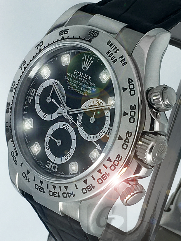 【Brand Shooting,Good Industrial design:Photo Collection】Rolex Cosmograph Daytona Ref.116519G