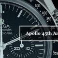 【OMEGA】Speedmaster MOONWATCH PROFESSIONAL CHRONOGRAPH Apollo 45th Anniversary BOX Model