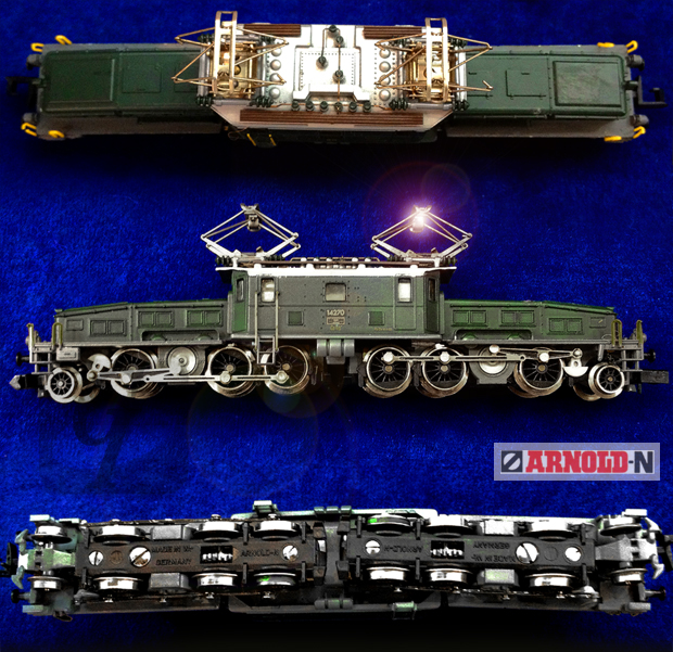 【Brand Shooting,Good Industrial design:Photo Collection】ARNOLD Model Maker Crocodile Electric Locomotive
