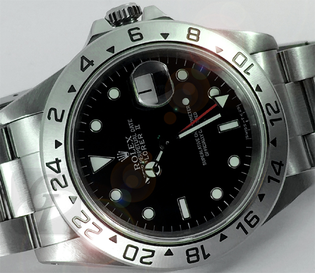【Brand Shooting,Good Industrial design:Photo Collection】Rolex EXPLORER II Ref.16570/ロレックス エクスプローラー II Ref.16570