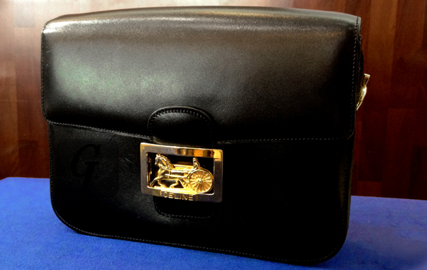 【Brand Shooting,Good Industrial design:Photo Collection】Celine Vintage Shoulder Bag