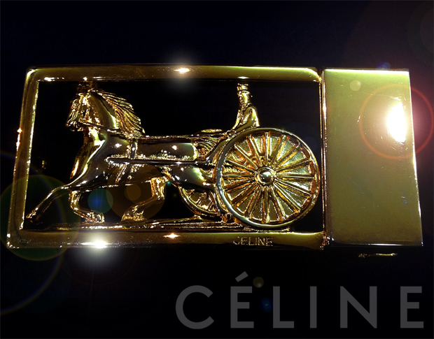 【Brand Shooting,Good Industrial design:Photo Collection】Celine Vintage Shoulder Bag