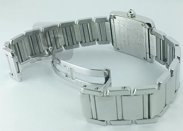 【Cartier】TANK FRANCAISE カルティエ タンク フランセーズ SM 18KWG は中古市場で超高額タイプをリーズナブルに購入できる正統派モデル