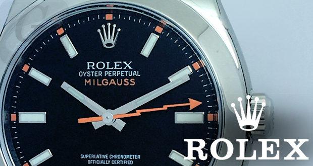 on sale 2f90f 5f3ae Rolex Milgauss Ref.116400】ロレックス ミルガウス Ref.116400 ...