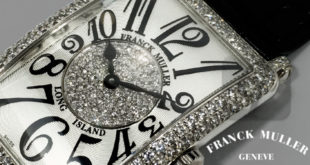 【FRANCK MULLER】ロングアイランド LONG ISLAND PASTILLE DIAMOND 18K WG Crocodile Strap 952QZD1P