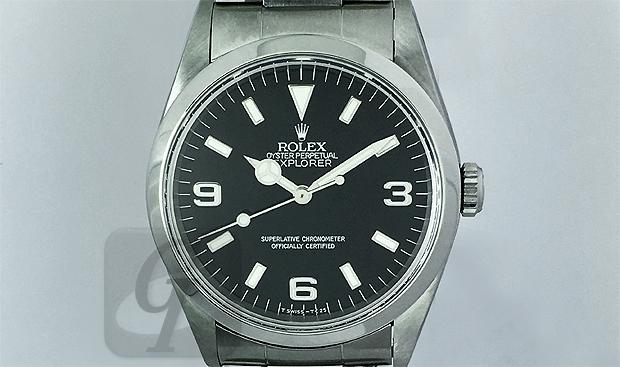 【Rolex】 ロレックス エクスプローラーI EXPLORER I Ref.14270 90~00年代までに一世を風靡した大人気モデル