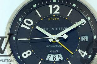 【LOUIS VIUTTON】タンブール GMT レヴェイユ 限定モデル Ref:Q1153 18WG は近い将来腕時計分野の成長が期待できる優れたマストモデル