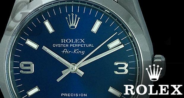 【ROLEX】ロレックス エアキング Air-King Ref.14000 は ロレックスブランドの入門機としてリーズナブルな定番人気モデル