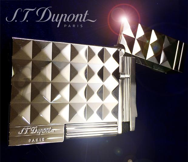 【S.T.Dupont】デュポン ライター ギャッツビー ダイヤモンドヘッド は 幾何学装飾が美しいステータスシンボルとしての成功モデル