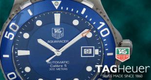 【TAG Heuer】タグ・ホイヤー アクアレーサー Aquaracer Caliber 5 Blue Dial キャリパー5 ブルーダイアルは中古市場でも入手が困難になりつつある年々上昇傾向のダイバーズモデル