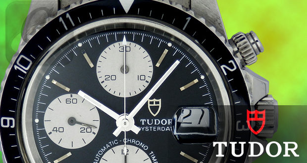 【TUDOR】チューダー オイスターデイトクロノタイム はロレックスの流れを汲む稀少な高額モデル