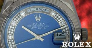 【ROLEX】デイデイト ミリヤードダイヤ WGは非日常を生み出す魅惑的なドレス系高級モデル