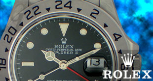 【Rolex】ロレックス エクスプローラーII は 前代から正常進化した探検時計の完成モデル