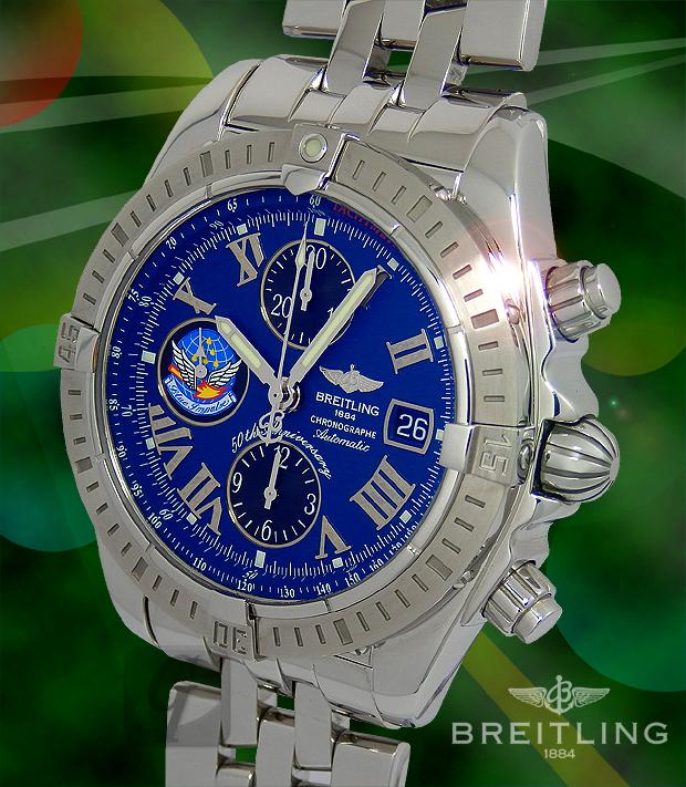 【BREITLING】Chrono mat Evolution Blue Impulse ブライトリング クロノマットエボリューション ブルーインパルス A13356