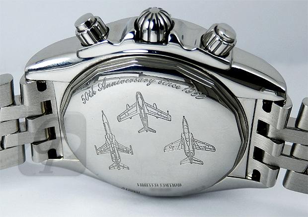 【BREITLING】Chronomat Evolution Blue Impulse ブライトリング クロノマットエボリューション ブルーインパルス はプロのための計器を創るブランド戦略を展開する航空自衛隊モデル