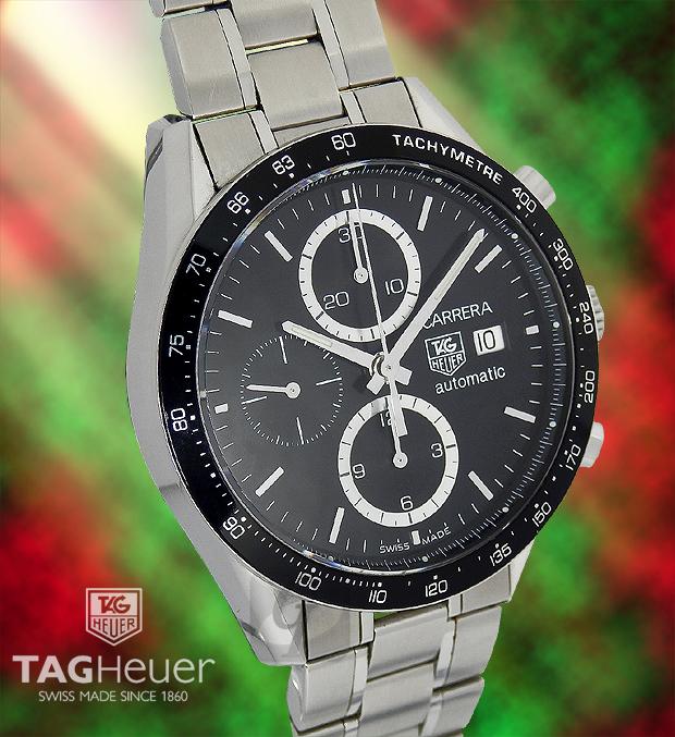 【TAG HEUER】タグホイヤー カレラクロノは抜群の知名度と手頃な価格で高級感漂うスポーツモデル