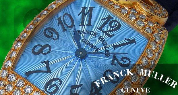 【FRANCK MULLER】トノーカーベックス クゥー ハートとダイヤが美しいハイジュエリーウォッチ