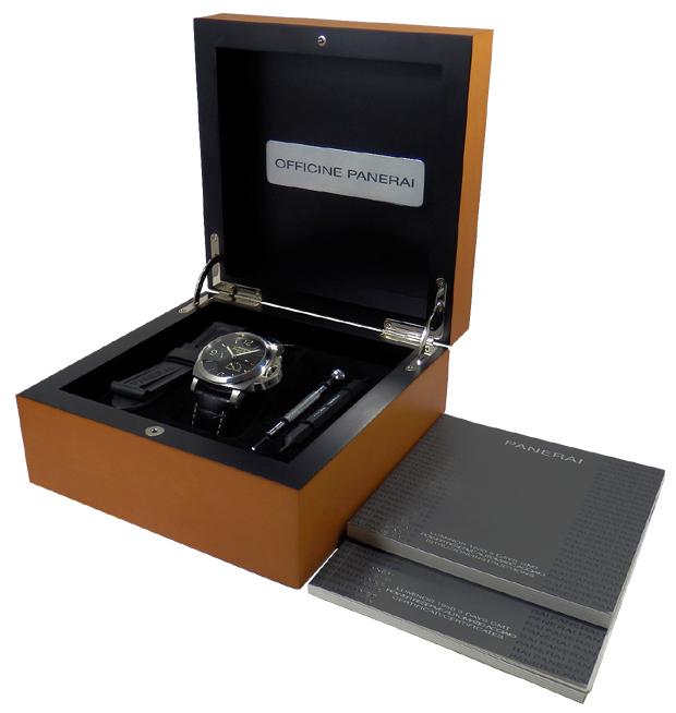 【PANERAI】ルミノール 1950 自社製ムーブと 3 日巻きで定番人気のベーシックモデル