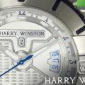 【HARRY WINSTON】ハリーウィンストン オーシャンスポーツ ザリウム は 幾何学デザインが美しいスポーツ系入門モデル