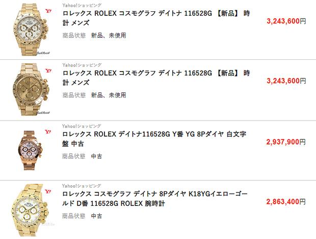 【ROLEX】ロレックスマニアが選ぶ 資産価値が高い宝飾系 コスモグラフ デイトナ 5 つのモデル