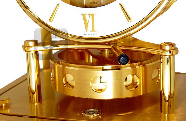 【Jaeger-LeCoultre】ジャガー・ルクルト アトモス ATMOS cal.540 は スイス政府公式の空気で動く超高級時計