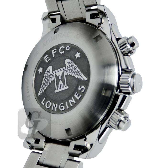 【LONGINES】ロンジン アドミラル タキメーター クロノグラフ は リーズナブルでコスパの高いラグジュアリーモデル