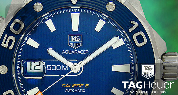 【TAG HEUER】タグホイヤー アクアレーサー キャリバー5 は正常進化を続けるスタイリッシュなダイバーズモデル
