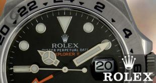 【Rolex】ロレックス エクスプローラーII は誕生40周年に登場初代オレンジカラー彷彿させさらに進化した完成形モデル