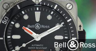 【Bell&Ross】ベル&ロス BR 03-92 DIVER 海に潜るプロに向けた計器として角型ケースを採用したダイバーズウォッチ