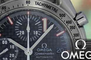 【OMEGA】オメガ スピードマスター レーシング M.シューマッハ は 絶頂期の王者を冠した世界限定モデル