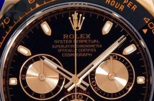 【Rolex Oyster Data File】コスモグラフ デイトナ DAYTONA Ref.116515LN ブラックラバーベルト エバーローズゴールド